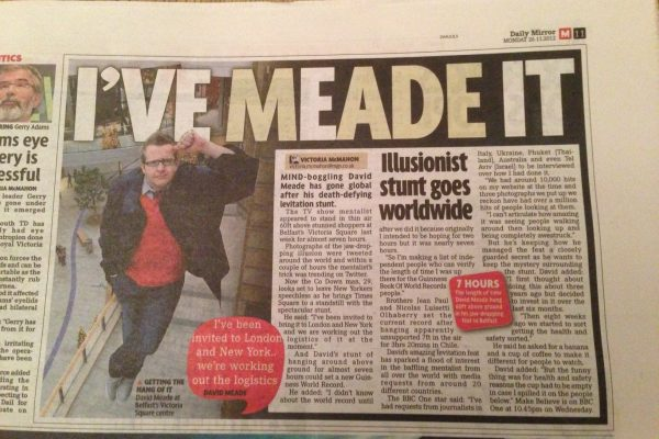 david in the daily mirror